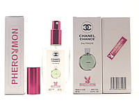 Жіночий парфум Chanel Chance Eeau fraiche тестер 60 ml в кольоровій упаковці з феромонами (репліка)
