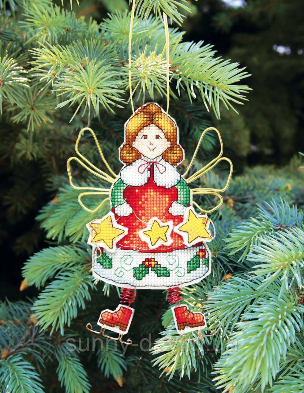 """Набор для вышивания крестом """"Новогодние игрушки"""""""