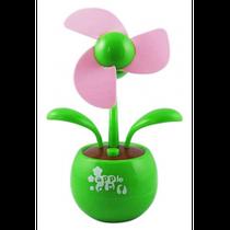 Настольный USB-вентилятор Цветок (зеленый)