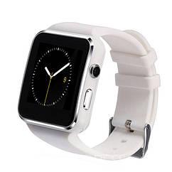Часы-телефон Smart Watch X6 Умные часы. X6. Белые.