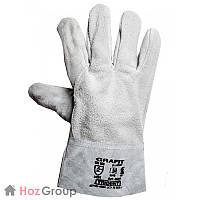 Перчатки защитные крага короткие GRAFIT
