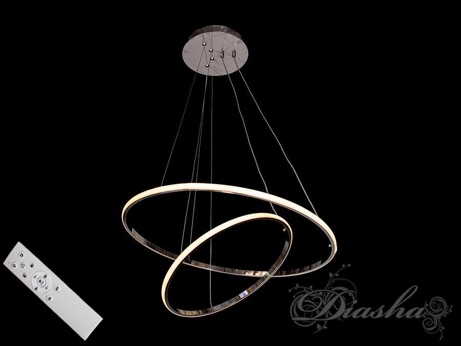Подвесные светодиодные кольца MD9079-2AHR-600+400 dimmer