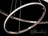 Подвесные светодиодные кольца MD9079-2AHR-600+400 dimmer, фото 5
