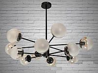 """Люстра на 12 ламп  в стиле ЛОФТ """"МОЛЕКУЛА"""" 9700-12, фото 1"""