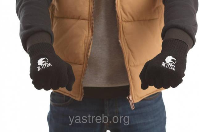 Перчатки Черный, фото 2
