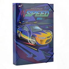 Папка для труда YES картонная A4 Speed car 491679