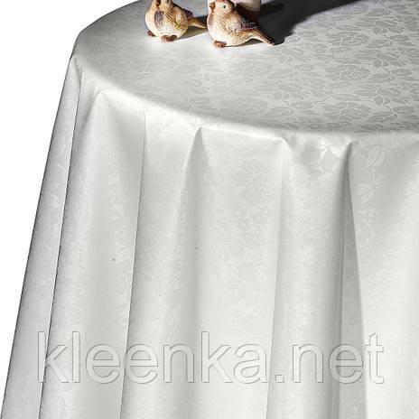 Белоснежная турецкая праздничная клеенка на стол Dekorama, фото 2