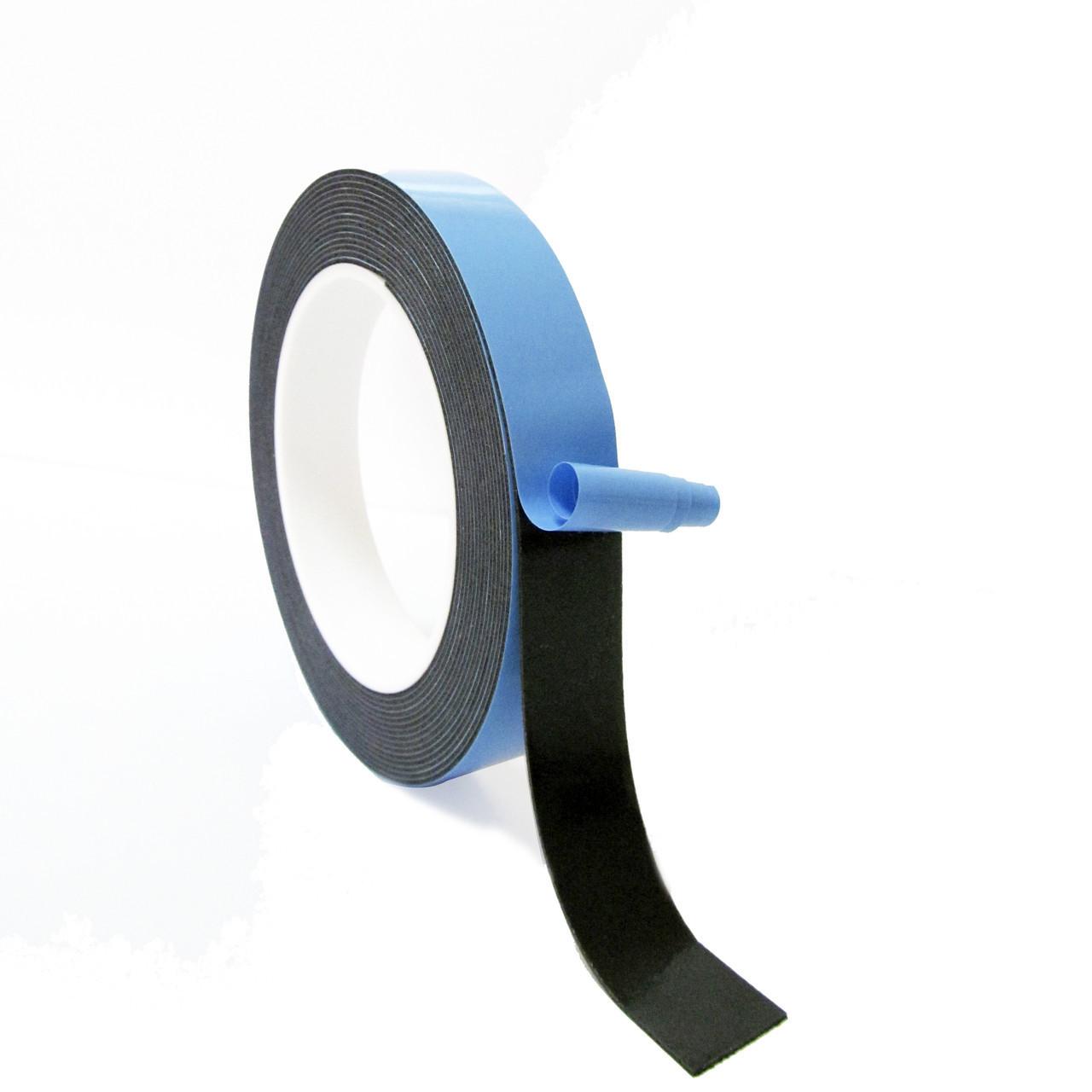 HPX 21386  - универсальная двухсторонняя клейкая лента (скотч) HPX - черная - 18мм x 66м
