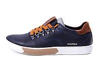 Мужские весенние кроссовки Polo Ralph Lauren из натуральной кож, 2 цвет (реплика)