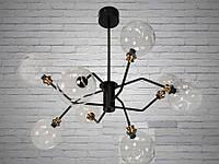 """Люстра на 9 ламп  в стиле ЛОФТ """"МОЛЕКУЛА"""" 9910-9CL, фото 1"""