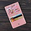Обложка для id паспорта, карты, автодокументов 2.0 Fisher Gifts BUSSINES пудра (кожа), фото 3