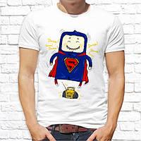 Мужская футболка с принтом Супермэн танцор Push IT