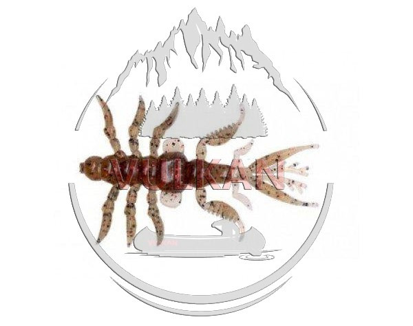 Силиконовая приманка Bait Breath Skeleton Shrimp SSP 2,7 (8 шт)