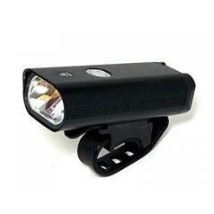 Велофара фонарь аккумуляторный на велосипед фара велосипедная (передняя) StVZO WD-374