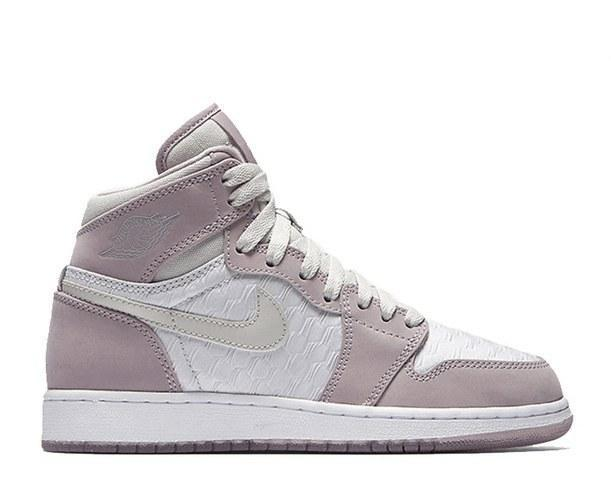 "Кроссовки Air Jordan 1 High HC ""White/Lavender"""
