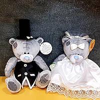 """Мишки """"Тэдди"""" Свадебные украшения на машину"""