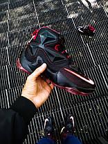 """Кроссовки Nike LeBron 13 Performance """"Черные\Красные"""", фото 2"""