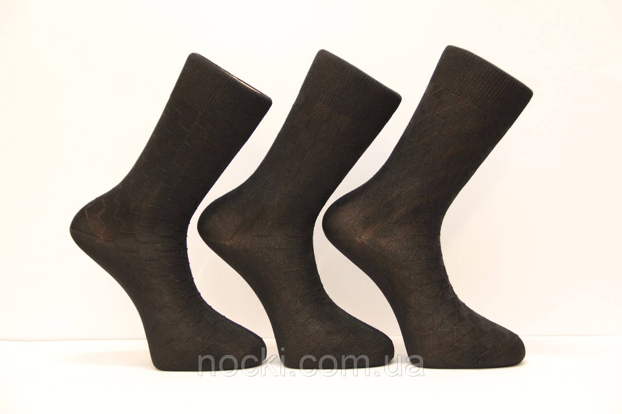 Мужские носки высокие с шелка DILEK 41-43