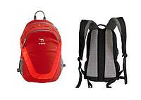 Рюкзак 22 л Tramp City Red червоний. Рюкзак для міста. Городской, спортивный рюкзак красный