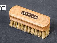 Полировочная щетка Saphir Polisher Brush, светлая свиная щетина, 8,5*3см