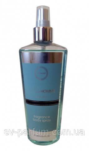 Парфюмированный спрей для тела мужской Blue Homme 250ml