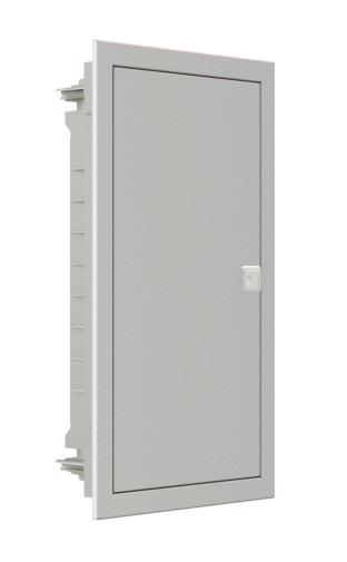 Модульный щиток, 12 модулей, 1 ряд, IP40, PMF 12, стальная дверца