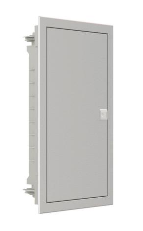 Модульный щиток, 12 модулей, 1 ряд, IP40, PMF 12, стальная дверца, фото 2