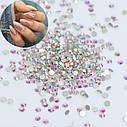 Стразы Crystal AB хамелеон SS3 1,3 - 1,4 мм (1440шт), фото 2
