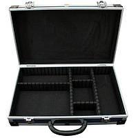 Кейс для инструмента Housetools - 395 x 240 x 90 мм алюминиевый с перегородками