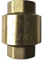 Клапан обратного хода воды Solomon C6022 латунный шток 1'