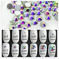 Стразы Crystal AB хамелеон SS4 1,5 - 1,6 мм (1440шт)