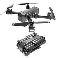 Многофункциональный Квадрокоптер HSCOPTER + камера, WI-FI, FPV, управление жестами, Headless Mode Чёрный