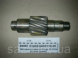 Шестерня ведущая цилиндр. Z=12 ЕВРО (пр-во КАМАЗ), 53205-2402110-20