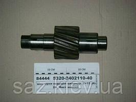 Шестерня ведущая цилиндр. Z=15 (пр-во КамАЗ)