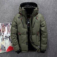 Мужской зимний пуховик куртка JEEP. 4 цвета! Размеры 46 - 52