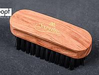 Щетка для замши и нубука Saphir Medaille D'or Polishing Brush, чёрная щетина