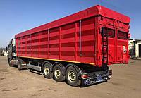 Тенты для зерновозов из ПВХ ткани - Германия 680 г/м2., грузовиков с открытым кузовом