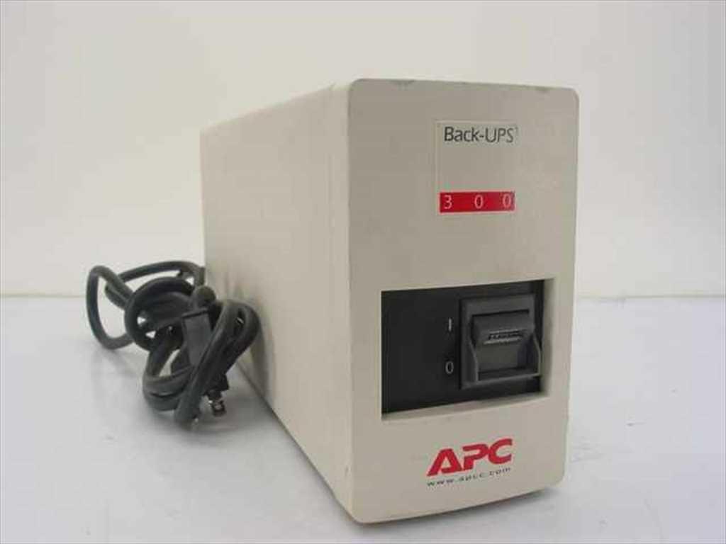 Источник бесперебойного питания, ИБП, ДБЖ, Back-UPS APC 300