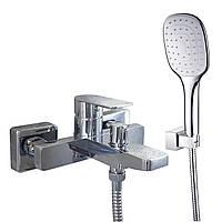 Смеситель для ванны TOPAZ SARDINIA-TS 08131-H19N душевой комплект, фото 1