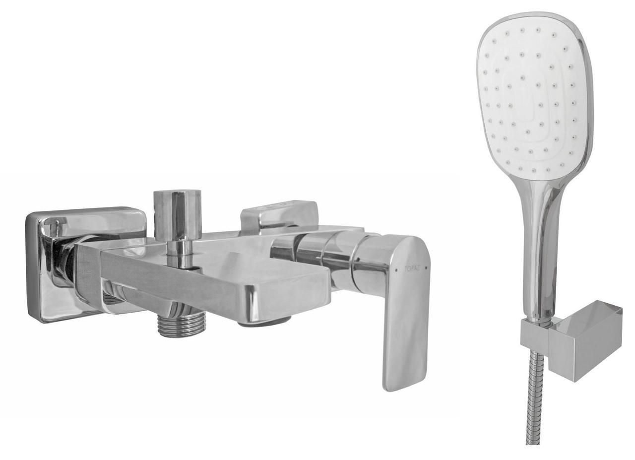 Смеситель для ванны TOPAZ SARDINIA-TS 08118-H19 душевой комплект