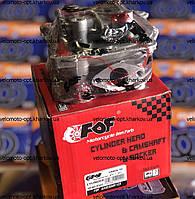 Головка цилиндра, YIBEN-50 убов, FDF, комплект (без крышки),  для скутера