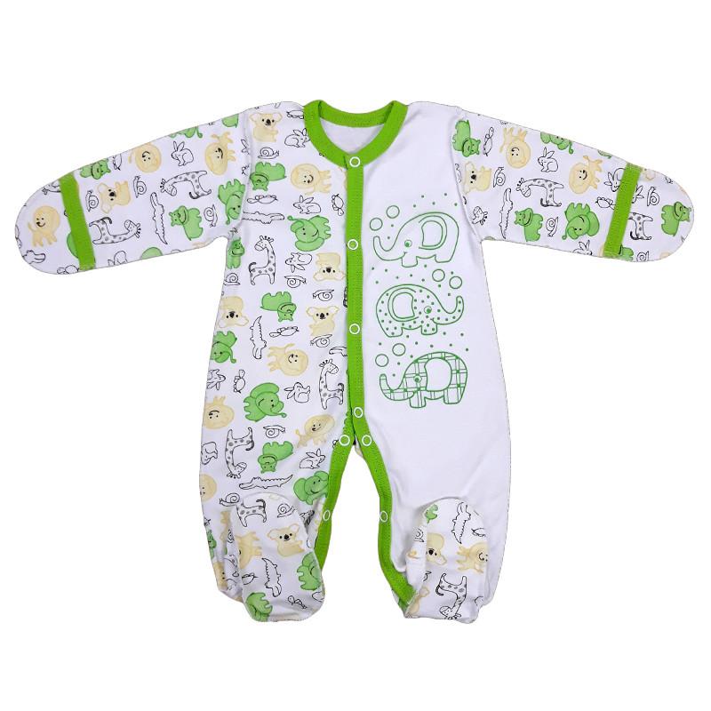 Комбинезон для новорожденных (интерлок)