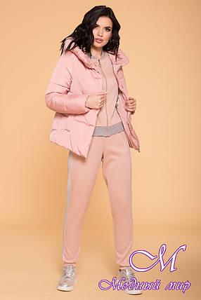 Стильная осенняя куртка женская (р. S, M, L) арт. Рито 6430 - 41898, фото 2