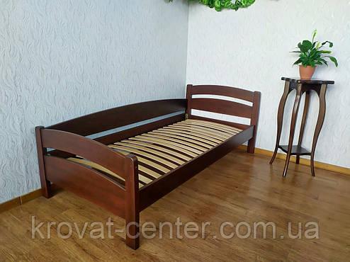 """Односпальне ліжко з натурального дерева від виробника """"Березня"""", фото 2"""