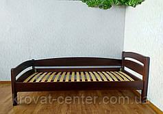 """Деревянная односпальная кровать из натурального дерева от производителя """"Марта"""", фото 3"""