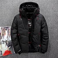 Мужская зимняя куртка пуховик JEEP. 4 цвета! Размеры 44, 48, 50