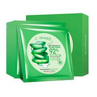 Маски для лица в подарочной коробке BioAqua Aloe Vera Soothing Gel 92%, 10 шт*30 г, фото 1