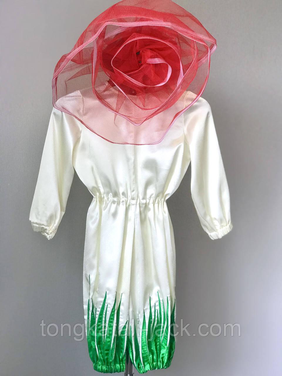 Костюм троянди 116-128 см, прокат карнавальних костюмів