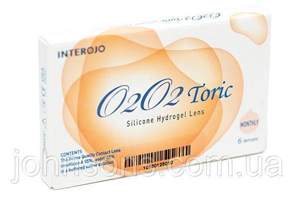 Контактные линзы О2О2 toric (1 упаковка)
