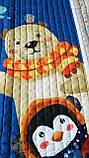 """Тканинний килим в дитячу """"Пінгвін і ведмедик"""", фото 3"""